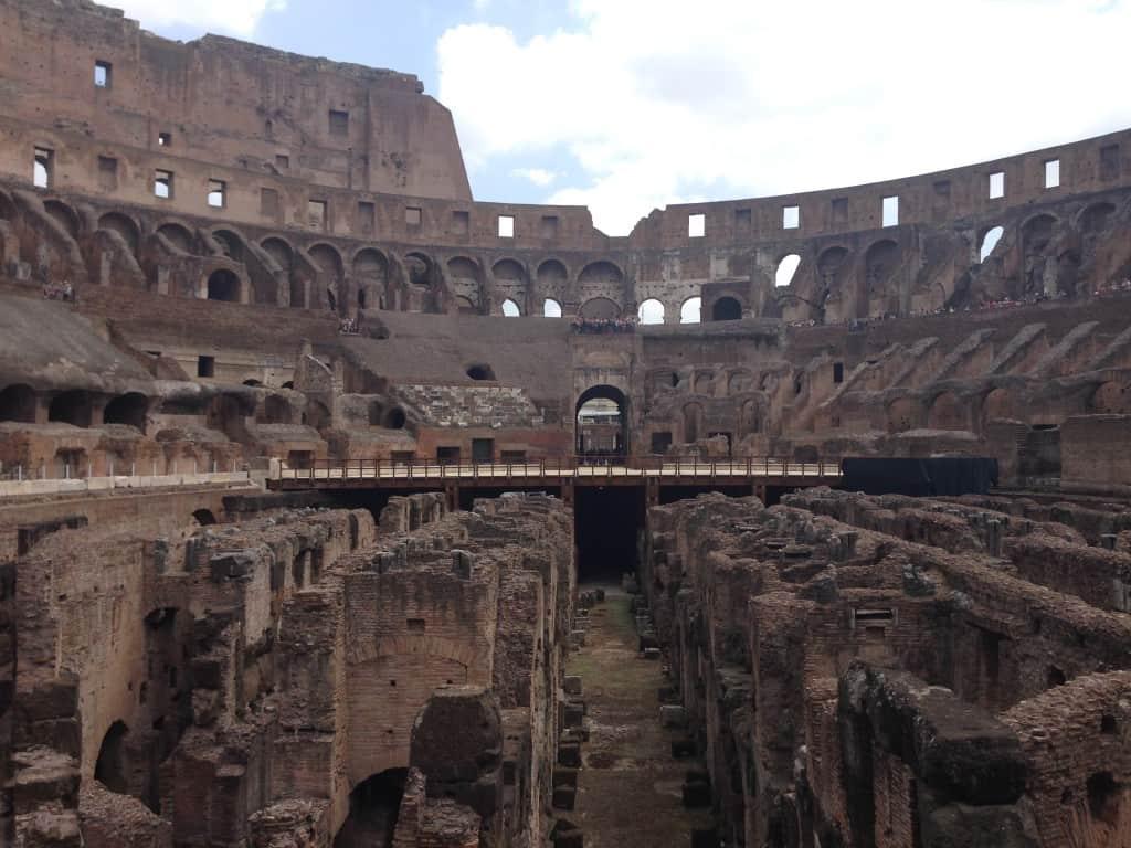 ancient subterranean halls