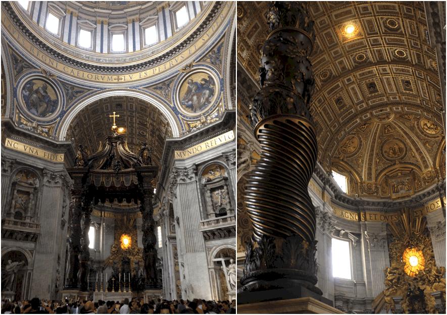 St-Peter's basilica interior