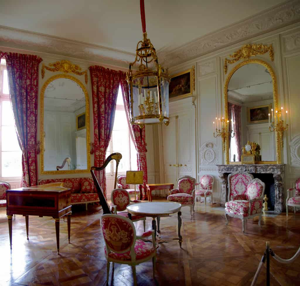 Salon de Compagnie du petit Trianon - Game room