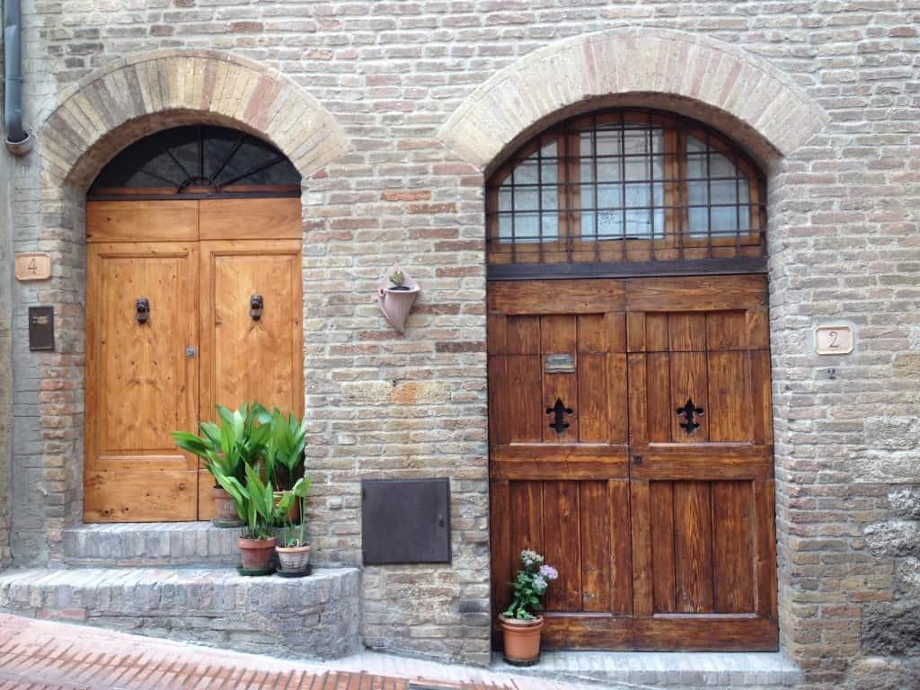 San Gimignano doors