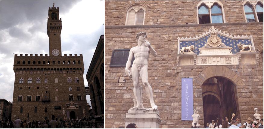 Palazzio Vecchio & David