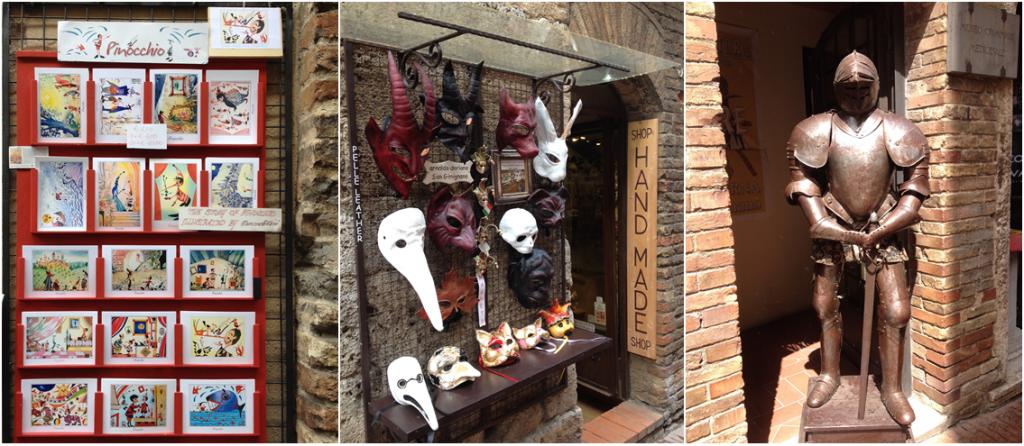 San Gimignano shops