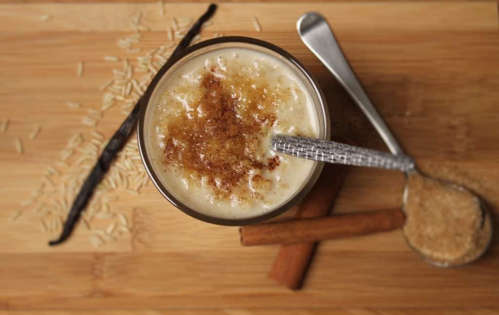 Vegan Brown Rice Pudding