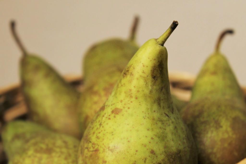 Compote de poire aux épices d'automne