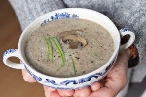 Vegan cream of mushroom