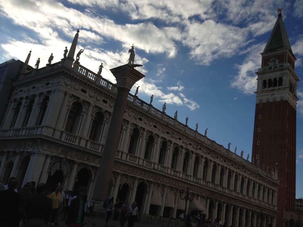 Tour du clocher de Venise