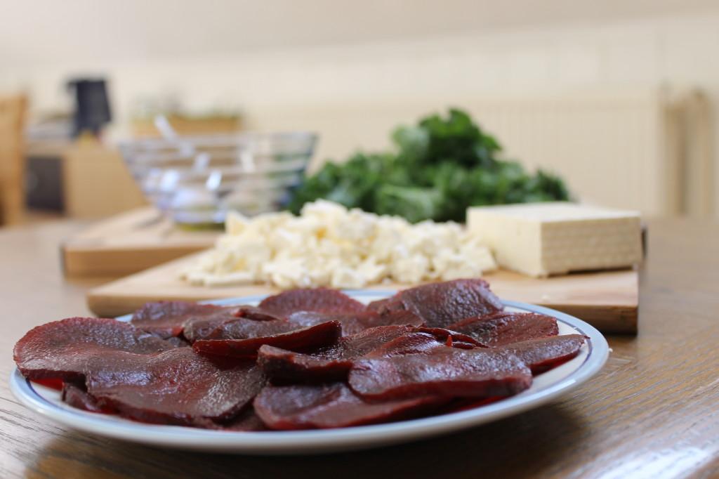 Betterave, kale, feta de chèvre