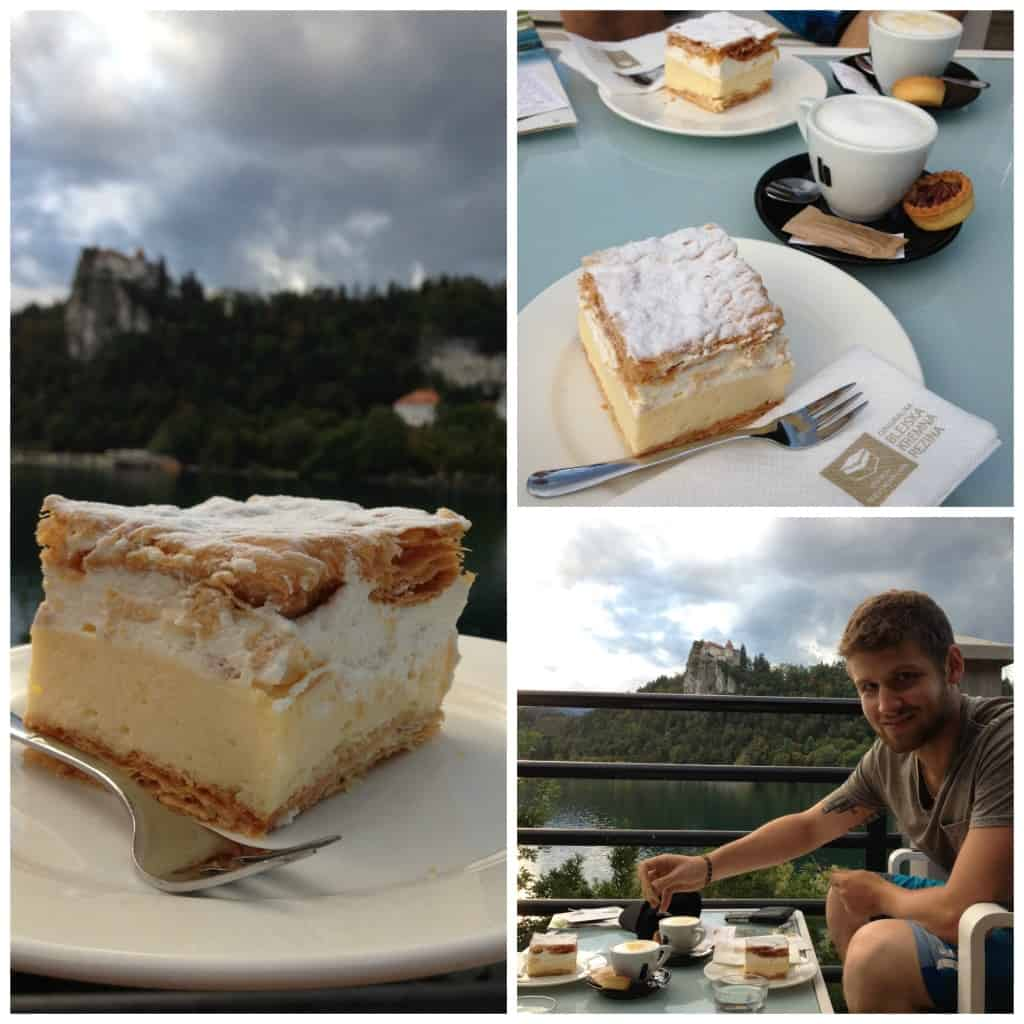 Bled Cream Cake - A Slovenian specialty