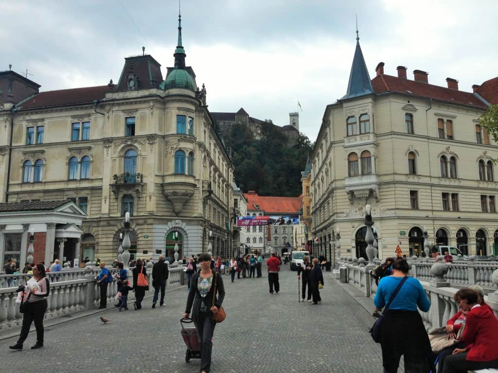Triple Bridge, Ljubljana