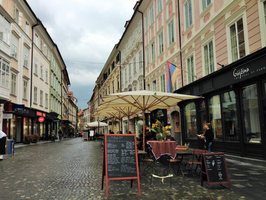 colourful Ljubljana