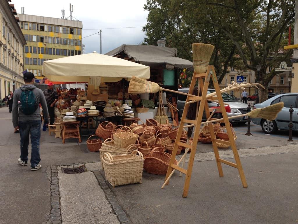 Ljublana's farmer's market
