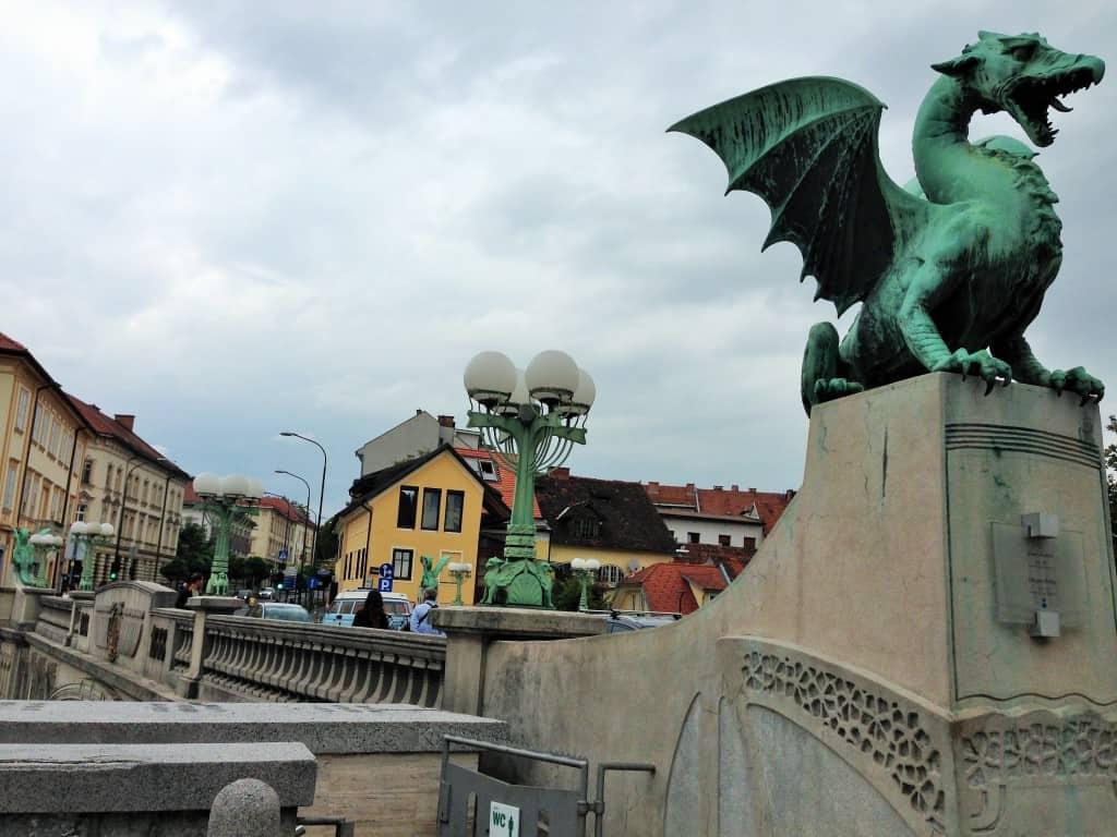 Dragon's Bridge, Ljubljana