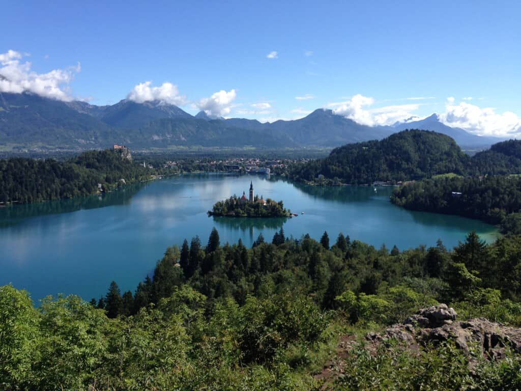 Bled Lake, one of the best spots in Slovenia, www.valisesetgourmandises.com