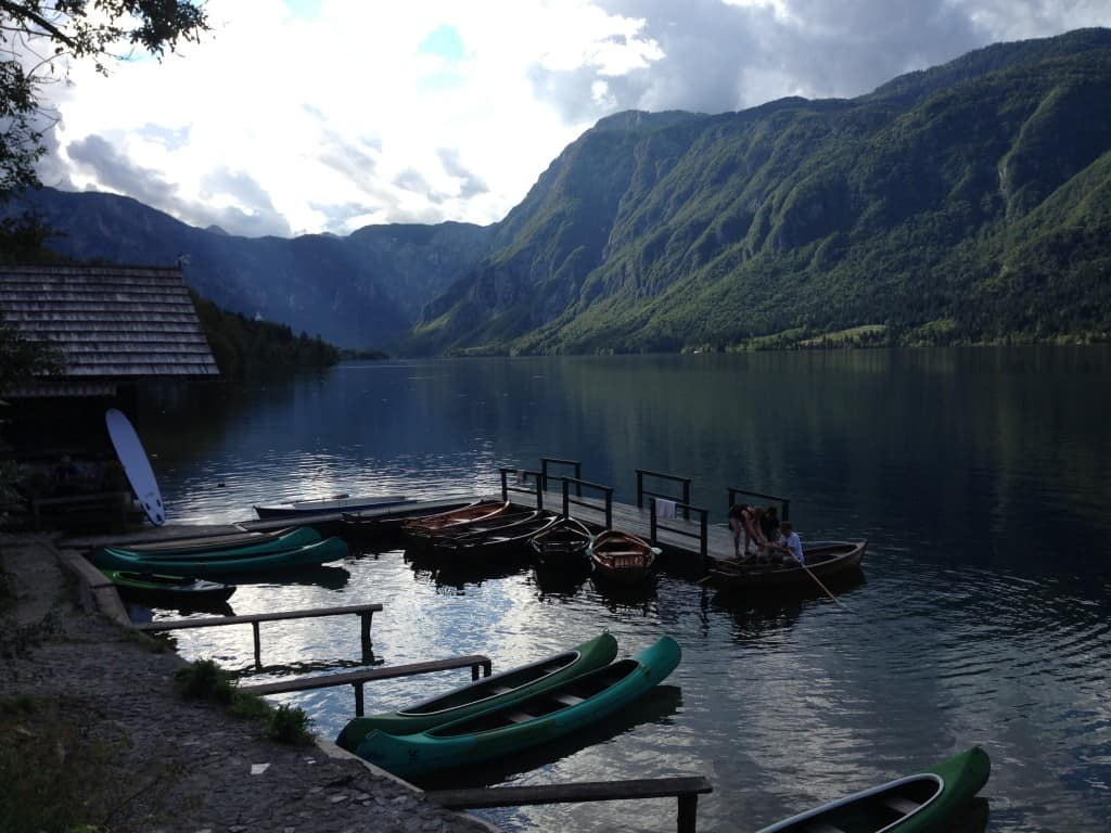 Lac de Bohinj Slovénie