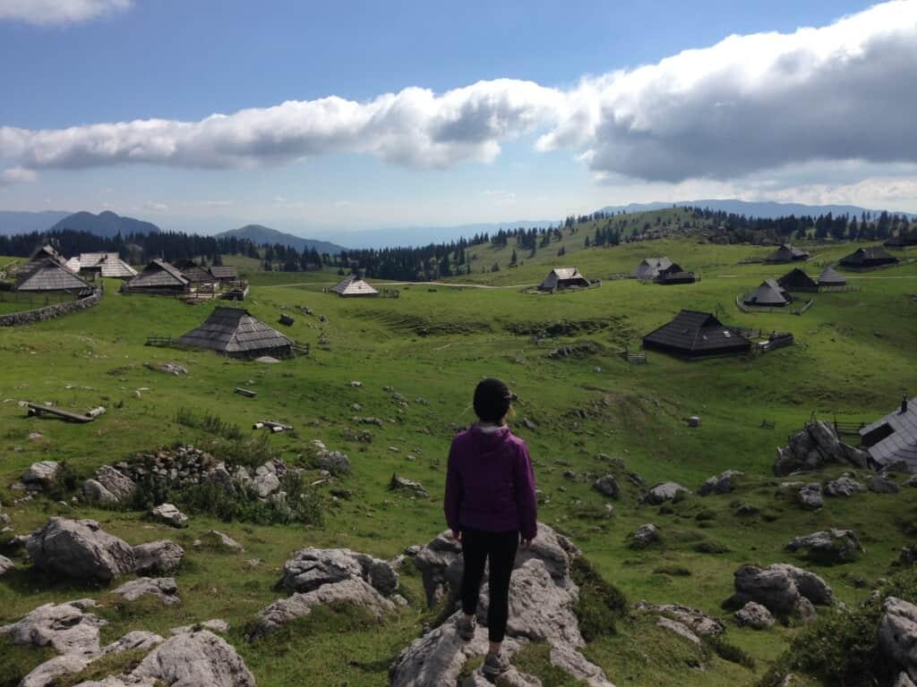 Velika Planina, Slovénie