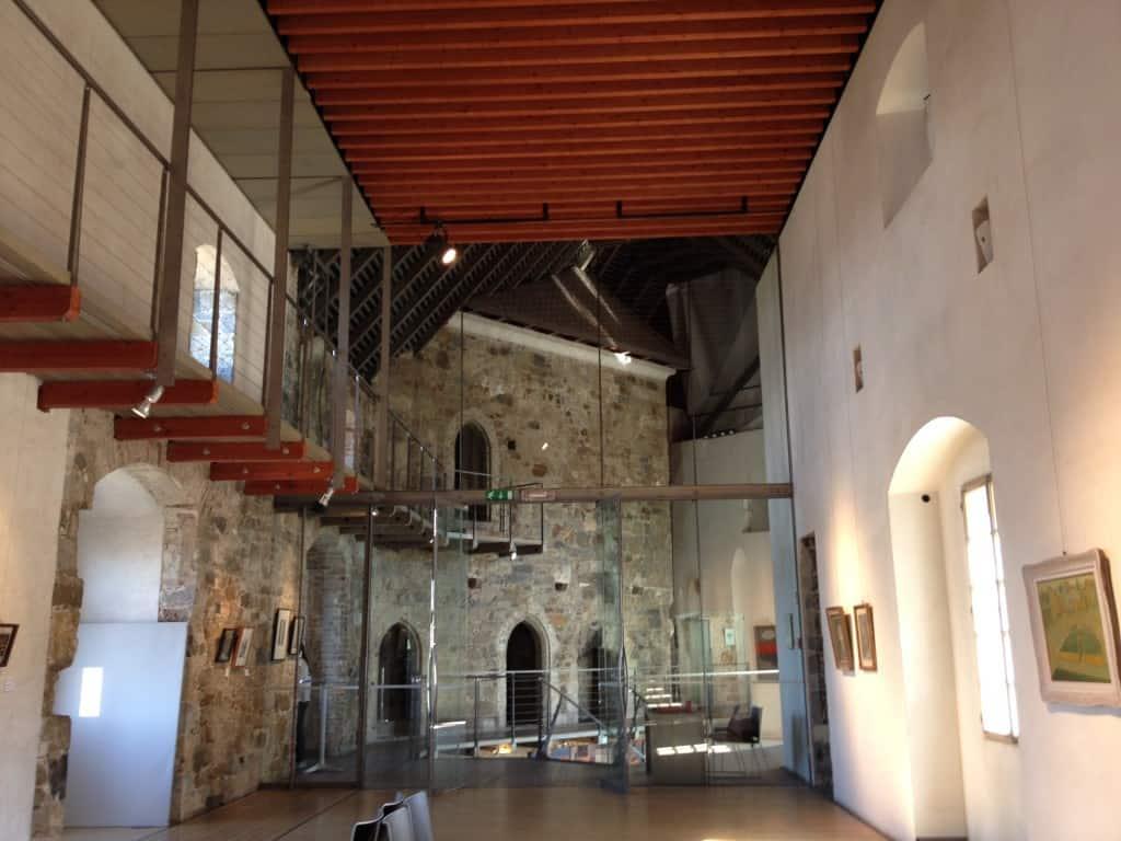 Art gallery in Ljubljana's castle
