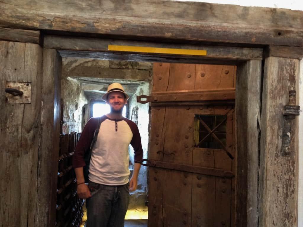 Old prison cell in Ljubljana's castle