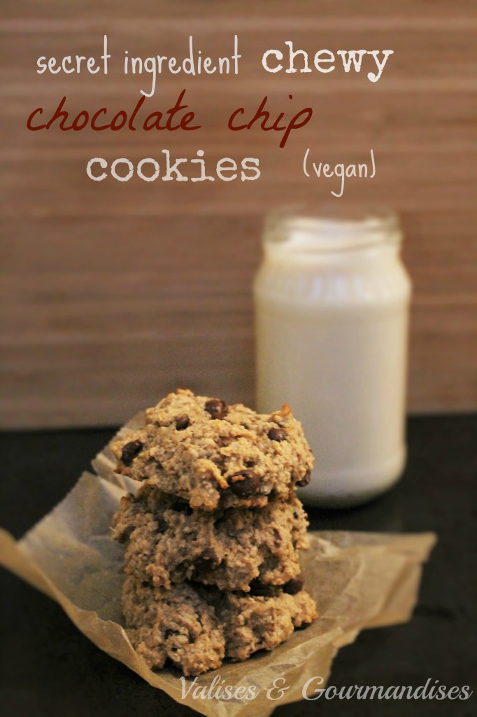 Chewie Chocolate Chip Cooies - Healthy and Vegan