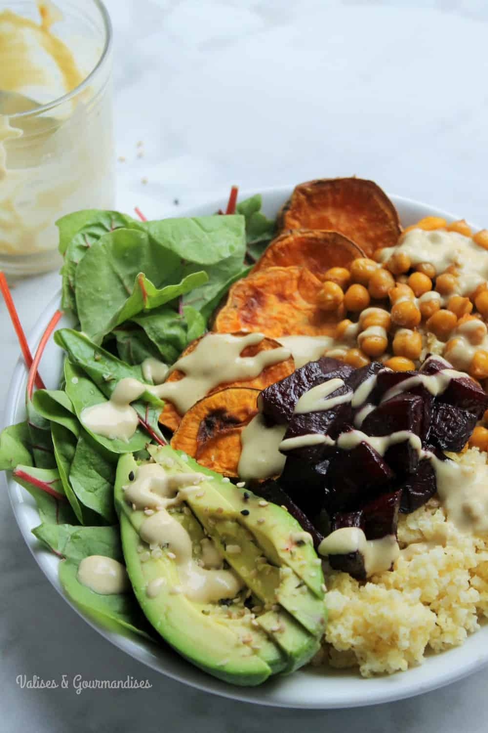 How to make a Buddha Bowl - Valises & Gourmandises