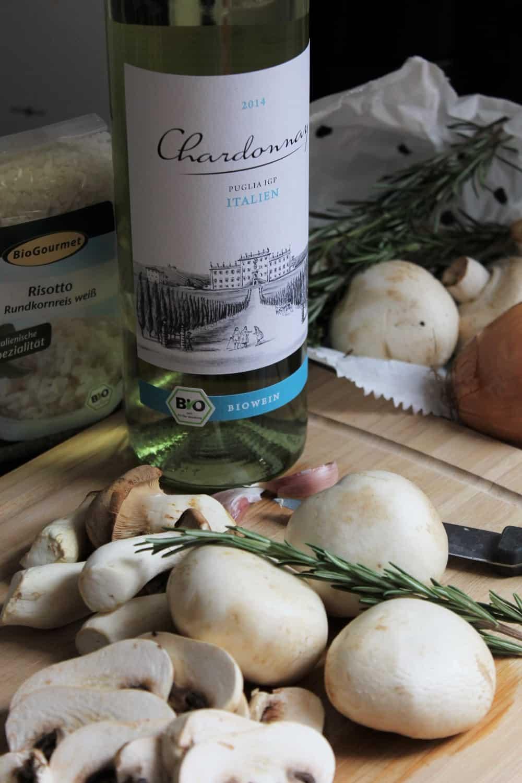 risotto végane aux champignons