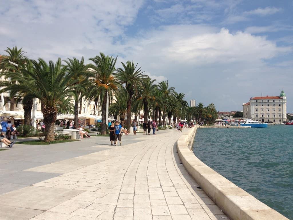 Esplanade in Split