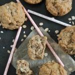 Muffins faciles pomme & avoine - Santé & Véganes - www.valisesetgourmandises.com