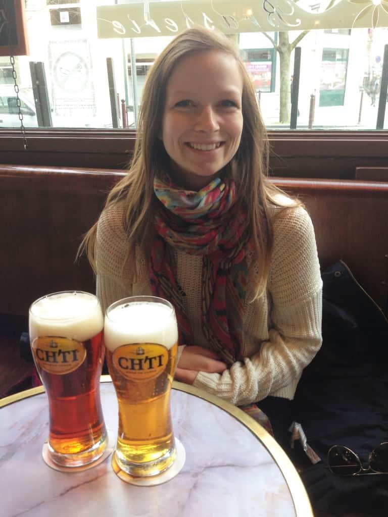la Ch'ti, une bonne bière du Nord-pas-de-Calais, France