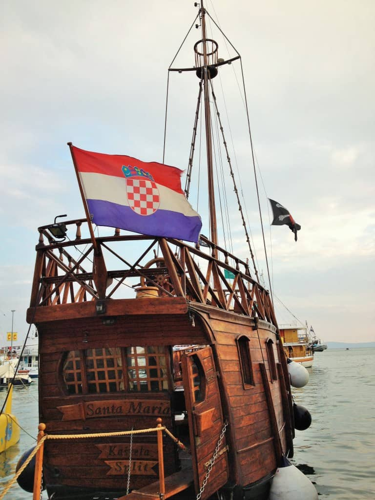 Pirate ship in Split