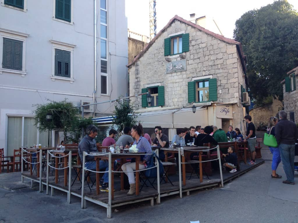 Buffet Fifi, traditional croatian food in Split