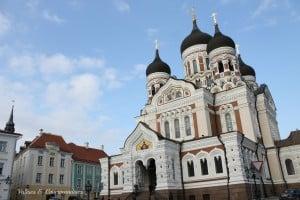 Cathédrale Alexander Nevsky, Tallinn, Estonie