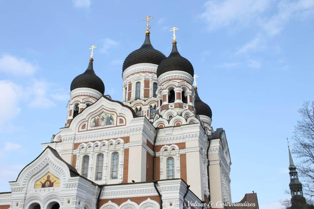 Alexander Nevsky Cathedral in Tallinn, Estonia
