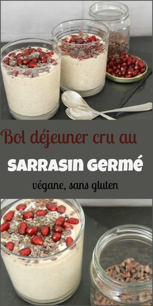 Ce bol déjeuner au sarrasin se prépare en quelques minutes et est hautement nutritif!