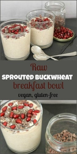 This sprouted buckwheat porridge takes only minutes to make and packs a punch of nutrients.