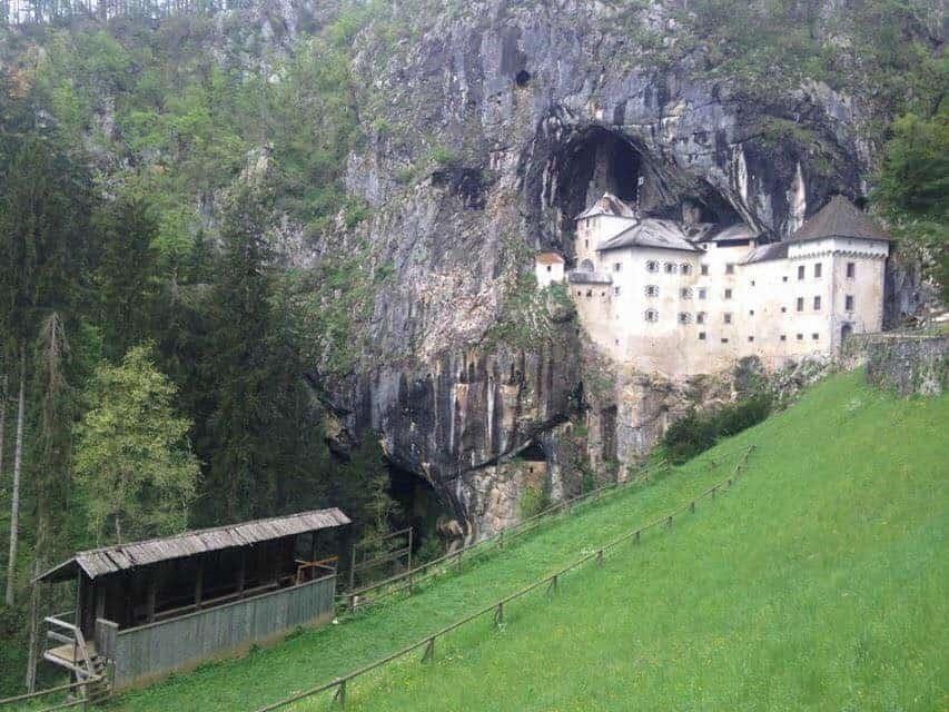 Predjama Castle, Slovénie