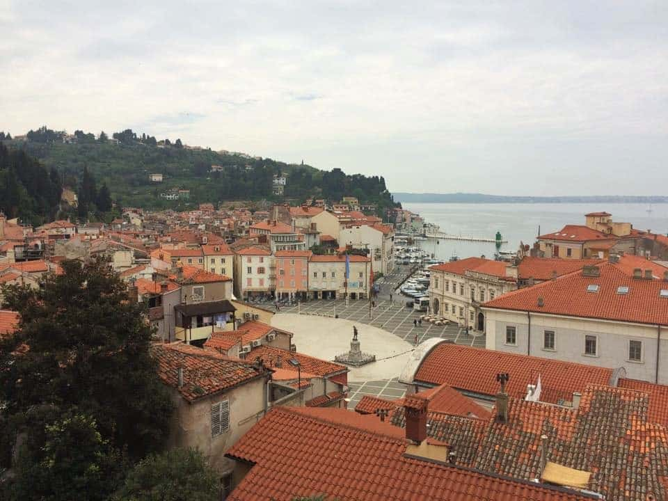 Adriatic town of Piran, Slovenia