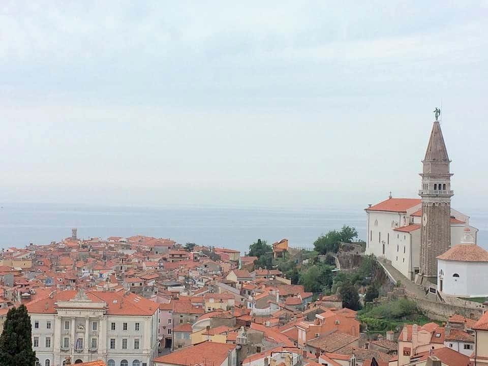Vue de Piran, Slovénie