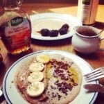 2-ingredient sprouted buckwheat pancakes