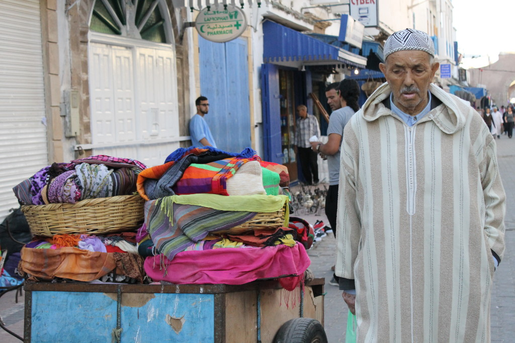 old man in Morocco