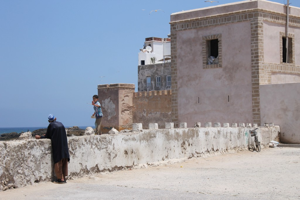 Family time in Essaouira