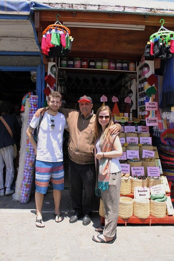 Marché d'épices à Essaouira