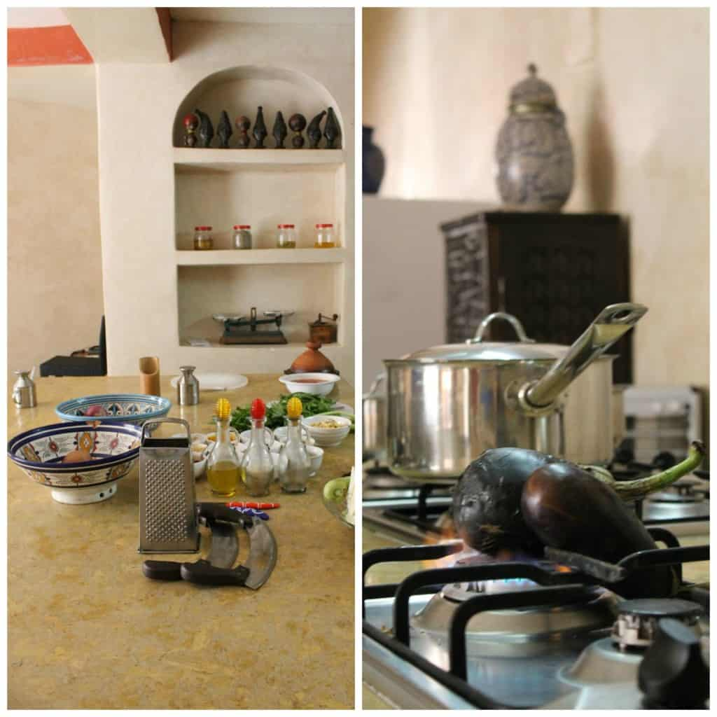 cours de cuisine à Essaouira
