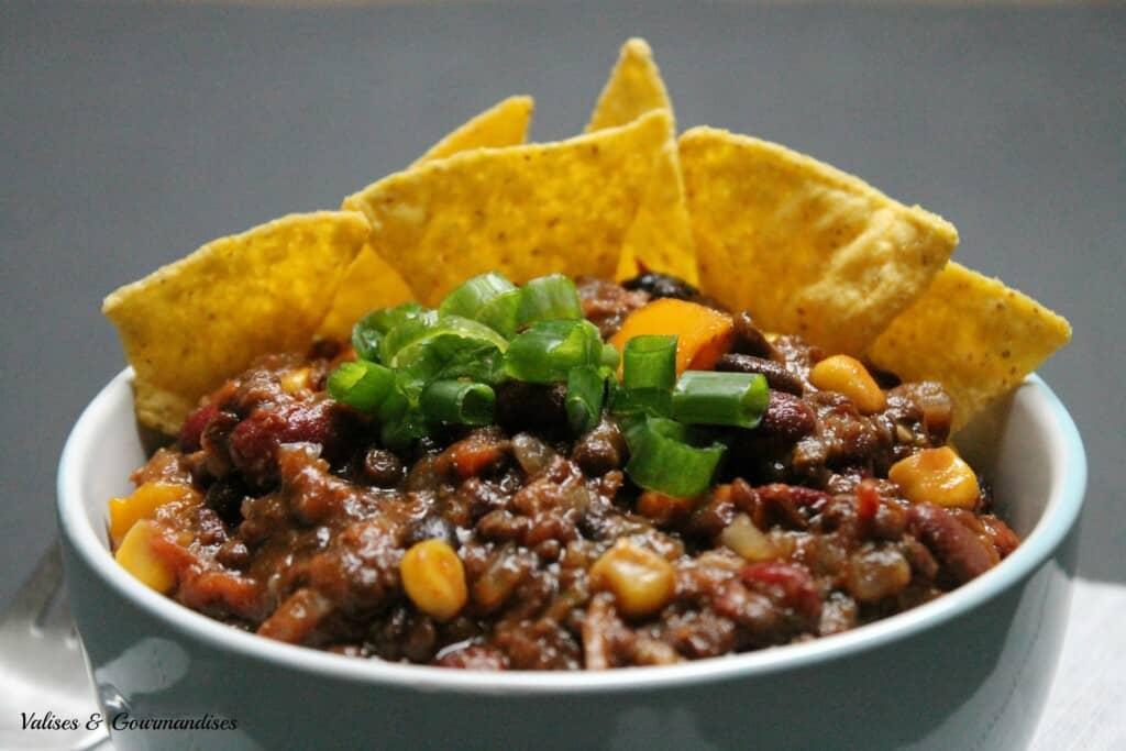 vegan 3-bean chili