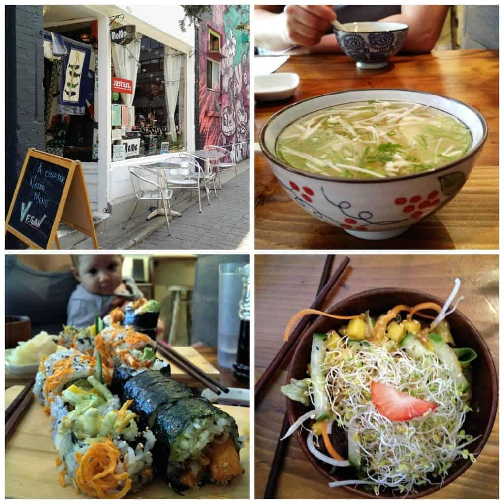 Momo Sushi - Sushis végétaliens à Montréal