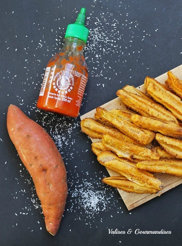 Tempura sweet potato fries