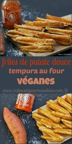 Donnez une tout autre dimension à vos frites de patate douce en les faisant cuire dans une pâte tempura Sriracha et noix de coco!