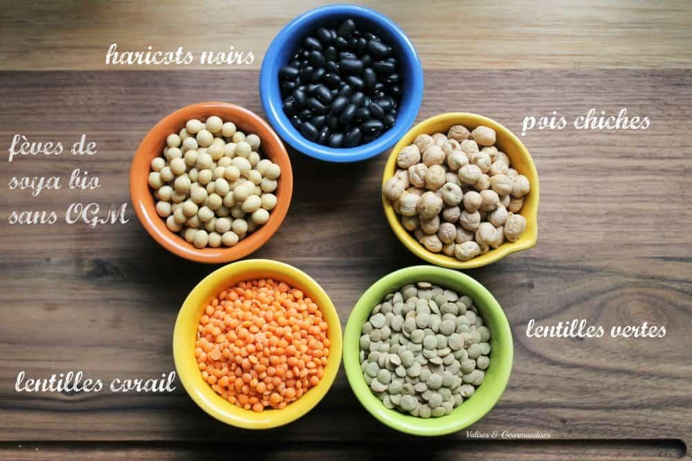 Comment utiliser les légumineuses sèches