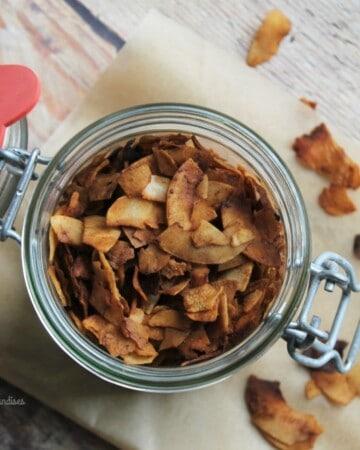 Bacon de coco végane - Valises & Gourmandises