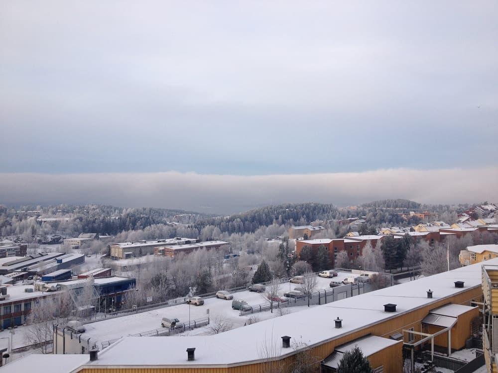 vue sur le fjord d'Oslo