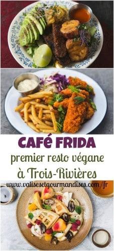 Découvrez le Café Frida, le 1er resto végane en Mauricie, Québec