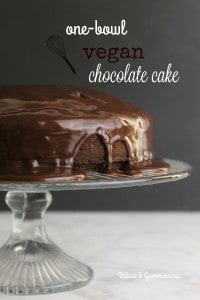 Vegan chocolate cake - Valises & Gourmandises